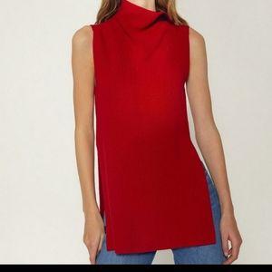 Aritzia Wilfred Molten Red Durandal Sweater S
